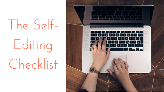 Make a List, Check it Twice: A Self-Editing Checklist