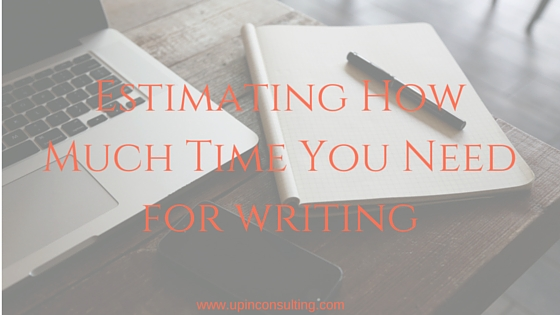 Making a Writing Schedule: How Much Time Do You Need?