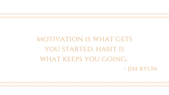 Get Into the Habit