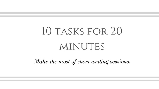 What Can You Write in 20 Minutes?