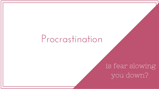 Fear and Procrastination: Are You Afraid to Write?