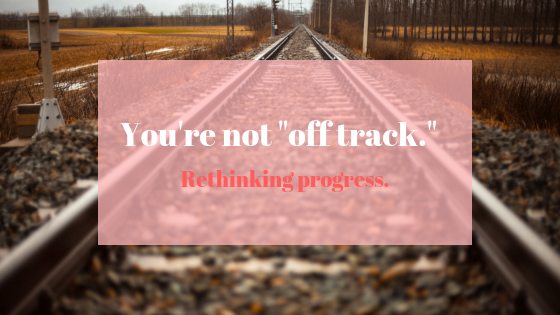 "Staying ""On Track"" With Your Writing Goals"