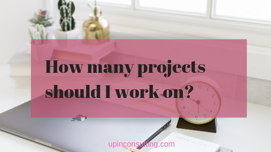 One or More: How Many Projects To Work on at Once