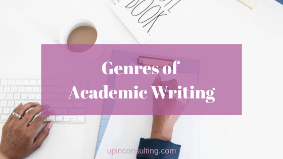 Genres of Academic Writing